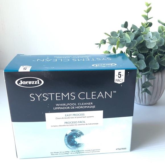 Jacuzzi Systems Clean 5 Pack Whirlpool Cleaner